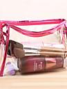 прозрачная косметическая отделка мытья водостойкой косметики мешок леди путешествия ювелирных изделий большой емкости для хранения сумку