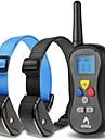 Koirat bark Collar / Koiran treenauspannat Anti Bark / Vedenkestävä / Tärinä / LCD / 300M / Kauko-ohjain Tukeva Maalattu Muovi