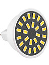 5W GU5.3(MR16) Spot LED MR16 24 SMD 5733 400-500 lm Blanc Chaud / Blanc Froid Decorative AC 100-240 / AC 110-130 V 1 piece