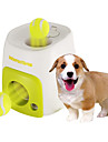 Dog Toy Pet Toys Interactive Ball Food Dispenser Treat Dog Toy Tennis Ball Plastic Green