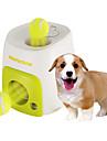 Perros Juguetes para Mascotas Bola / Interactivo Dispensador de Comida / Pelota de tenis Verde Plastico