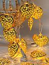 20 под руководством 2.5m кованого железа выдолбить свет водонепроницаемый штекер открытый свет украшения рождества праздник вел свет шнура