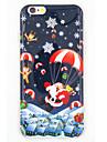 Pour Coque iPhone 7 / Coque iPhone 6 / Coque iPhone 5 IMD Coque Coque Arriere Coque Noel Flexible TPU AppleiPhone 7 / iPhone 6s Plus/6