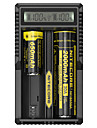Nitecore UM20 Intellicharger Battery Charger Digi Lithium Charger with LCD Display Screen for 17500 18650 16340 14500