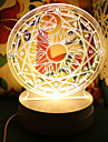 Настольные лампы-Светодиодные-Оригинальный-Пластик