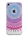 TPU Material Blue Sunflower Pattern Stained Phone Case for iPhone 7Plus 7 6sPlus 6 Plus 6s 6 SE 5s 5