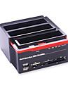 многофункциональный HDD док 2.5 3.5 IDE SATA жесткий диск корпус USB 2.0 корпус жесткий диск HDD корпус случайный цвет