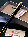 Ручка Ручка Перьевых ручек Ручка,Металл / Пластик бочка Черный Цвета чернил For Школьные принадлежности Офисные принадлежности В упаковке