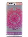 Pour huawei p9 p9 lite motif de tournesol tombe haute permeabilite tpu materiel boitier de telephone