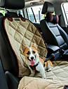 Gato / Perro Cobertor de Asiento Para Coche Mascotas Colchonetas y Cojines Impermeable / Portatil / Suave Negro / Marron / Beige Felpa