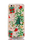 Christmas Tree PC Flowing Liquid Case for iPhone 7 7 Plus 6s 6 Plus SE 5s