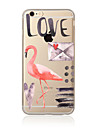 Flamingo  Pattern TPU Soft Case Cover for Apple iPhone 7 7 Plus iPhone 6 6 Plus iPhone 5 5C iPhone 4