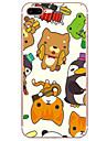용 아이폰7케이스 / 아이폰6케이스 / 아이폰5케이스 울트라 씬 / 패턴 케이스 뒷면 커버 케이스 카툰 소프트 TPU Apple아이폰 7 플러스 / 아이폰 (7) / iPhone 6s Plus/6 Plus / iPhone 6s/6 / iPhone