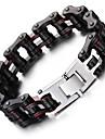 Kalen New Men's Bike Chain Bracelet Cool Biker Bicycle Chain Bracelet Fashion 316L Stainless Steel Hand Chain  2016 Christmas Gifts