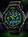 SKMEI® Men\'s Watch Sport Watch Japanese Quartz Analog-Digital Watch Dual Time Zones Chronograph Calendar LCD Cool Watch Unique Watch Fashion Watch