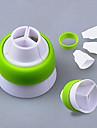 1 Plastico ferramenta de decoracao para bolo / para Cupcake Alta qualidade