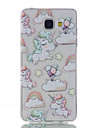 For Samsung Galaxy A5 (2016) Unicorn Pattern High Permeability TPU Material Phone Case