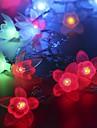 20 под руководством 2.5m звезда свет водонепроницаемый штекер открытый свет украшения рождества праздник вел свет шнура
