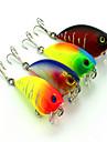 1 штук Колеблющаяся блесна Рыболовная приманка Вибрация Случайный цвет г/Унция мм дюймовый,Жесткие пластиковые Ловля на приманку