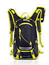 15 L Pacotes de Mochilas Mochila de Ciclismo mochila Alpinismo Esportes Relaxantes Ciclismo/Moto Acampar e Caminhar ViajarProva-de-Agua