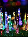 램프의 색깔의 빛의 슈퍼 사이즈 은하 크리스마스 방울 빛 문자열 2m (20) 헤드 배터리 박스 2.3meter