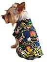 Gatos Perros Chaquetas Vaqueras Multicolor Ropa para Perro Invierno Primavera/Otono Vaqueros Moda Vacaciones