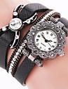 Mujer Reloj de Vestir Reloj de Moda Reloj de Pulsera Reloj Pulsera Cuarzo Punk Colorido PU BandaCosecha Destello Caramelo Mariposa