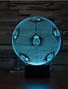 Football Dimming 3D LED Night Light 7Colorful Decoration Atmosphere Lamp Novelty Lighting Christmas Light