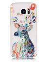 Deer TPU Glow in the Dark Soft Phone Case for Samsung Galaxy S3/S4 MINI/S5/S6/S7/S6 Edge/S7 Edge/S6 Edge Plus
