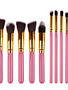 Makeup Brush Set Synthetic Hair Professional Portable Wood Face Eye Others