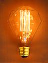 e27 220-240 G95 40w алмазов прямой провод бар подвесные декоративные ретро лампочки