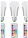 10W E26/E27 Ampoules Globe LED A80 1 COB 1200 lm Blanc Naturel / RVB Gradable / Commandee a Distance / Capteur / Decorative / Etanches V3