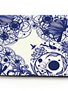 "Case for Macbook 13"" Macbook Air 11""/13"" Macbook Pro 13"" MacBook Pro 13"" with Retina display Flower Plastic Material Blue Line Flower"