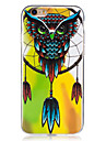 For Glow in the Dark  IMD Case Back Cover Case Wind chimes owl Soft TPU for Apple iPhone 7 Plus  7  6s Plus 6 Plus   6s  6  SE 5 S5 5C