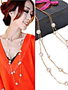 Women\'s Strands Necklaces Pearl Necklace Pearl Imitation Pearl Fashion Golden Jewelry Party Daily Casual 1pc