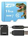 ZP 16GB MicroSD Classe 10 80 Outro Leitor de Cartao Tudo-em-Um Leitor de Cartao Micro SD Leitor de Cartao SD ZP-1 USB 2.0
