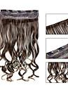 5 clips ondulado 12/613 grampo de cabelo sintetico em extensoes de cabelo para senhoras mais cores disponiveis