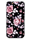 For Apple iPhone 7 7Plus 6S 6Plus Case Cover Chinese Rose Pattern TPU Material Painted Relief Phone Case