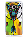 For Samsung Galaxy 7 (2016) J7 J5 (2016) Cover Case Glow in The Dark IMD Pattern Case Back Owl Soft TPU for J5  J3  J3 (2016) Galaxy Grand Prime