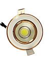 5pcs 5w початка 220-240 теплый белый водить вниз с света встраиваемый потолок