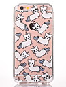 Pour Motif Coque Coque Arriere Coque Chat Dur Polycarbonate pour Apple iPhone 7 Plus iPhone 7 iPhone 6s Plus/6 Plus iPhone 6s/6