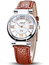 Women\'s Fashion Watch Wrist watch Quartz Leather Band Cool Casual Black White Red Brown