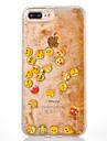 For Apple iPhone 7 7Plus 6S 6Plus Case Cover Expression Pattern TPU Soft Edge Luminous Quicksand Flash Powder Phone Case