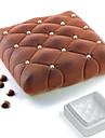 выпечке Mold Для торта Для шоколада силиконовый Сделай-сам 3D Высокое качество Антипригарное покрытие Экологичность