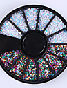 1box Manucure De oration strass Perles Maquillage cosmetique Nail Art Design