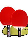 Ping Pang/Tabla raquetas de tenis Ping Pang Goma Mango Corto Las espinillas Interior Rendimiento Deportes de ocio