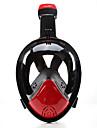 Mascaras de mergulho Anti-Nevoeiro Nao sao necessarias ferramentas Mascaras Faciais 180 Graus Mergulho e Snorkeling Neopreno-THENICE