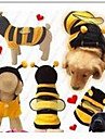 Dog Coat Dog Clothes Winter Solid Cute Yellow