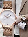 Herre Dame Kjoleur Modeur Armbåndsur Quartz Rustfrit stål Bånd Vintage Charm Armbånd Sølv Guld Rose Guld Guld Sølv Rose Guld