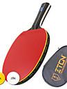 Table Tennis Rackets Table Tennis Ball Ping Pang Wood Long Handle Pimples 1 Racket 2 Table Tennis Balls 1 Table Tennis BagPerformance